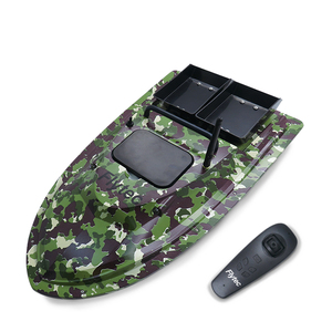 Flytec V007 Fishing Bait Boat With Fixed Speed Cruise Yaw Correction Features Camouflage Green