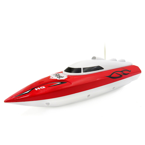Flytec 2011-15A Mini RC Boat 10KM/H Remote Control Boat Red