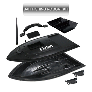Flytec 2011-5 500M Fish Finder RC Fishing Bait Boat DIY  Assembly Repair KIT For Transform Black