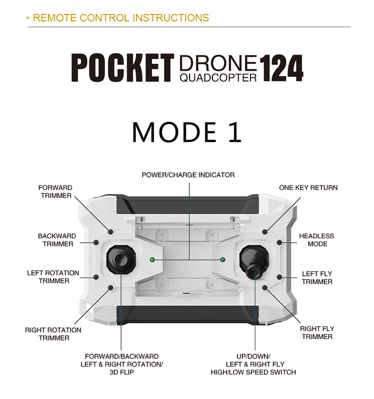 124_White_Pocket_Drone_One_Key_Switch_Controller_USB_Charger_Mini_RC_Quadcopter_RTF_04.jpg