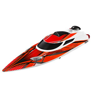 Flytec V200 35KM/H Super High Speed 2.4GHz 200m Control Distance RC Speed Boat Red