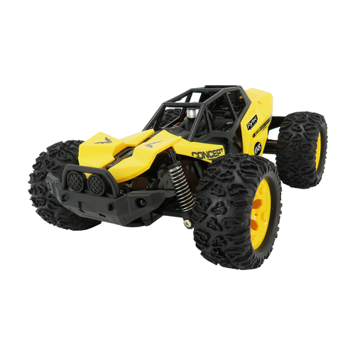 Flytec 8890 Super High Speed Drift Monster Truck Electric Off-Road Vehicle Remote Control Car Yellow