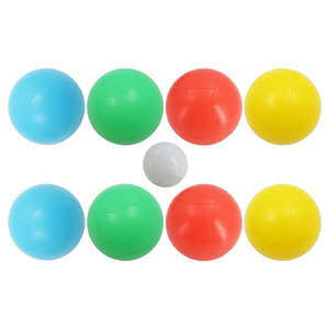 A04 Light Up Bocce Ball Set With Carrying Case For Outdoor Playing Night Sport Ball Used On The Gras