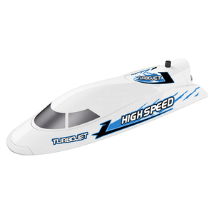 Flytec V008 35KM Super High Speed RC Jet Boat With Self-righting Feature For Pool and Lakes Blue