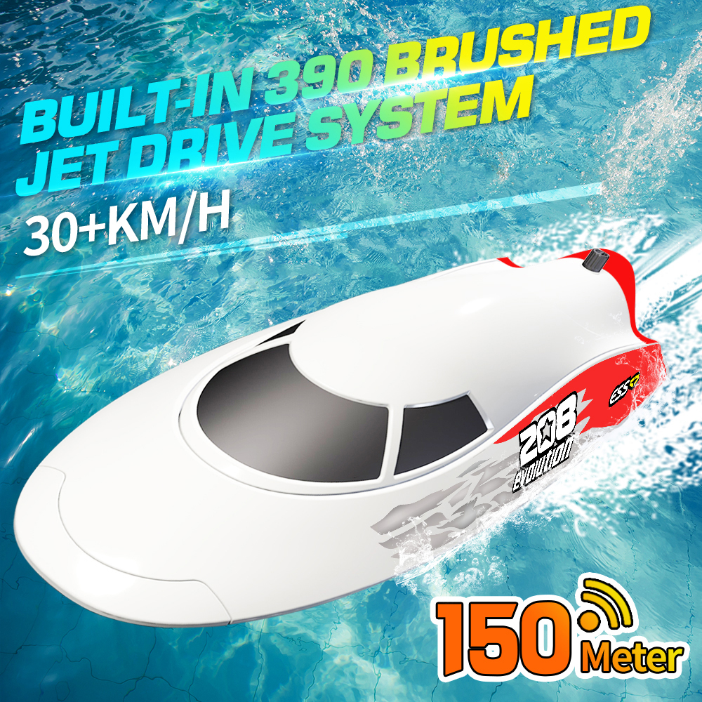 V008_Jet_Drive_System_390_Brushed_Racing_Boat_self-righting_RC_Boat_RTR_Red_01.jpg