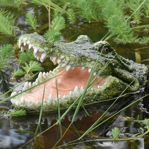 Flytec V308 Ferocious Crocodile Scary People Crocodile RC Boat Spoof Toy Garden Decoration