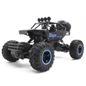 Flytec 8860 1/12 Alloy Monster Truck DIY Assembly 4WD Vehicle Conquering All Terrain RC Climbing Car
